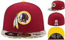 NEW! Washington Redskins New Era Digital Camo On Field 59FIFTY Fitted Hat 7-1/2