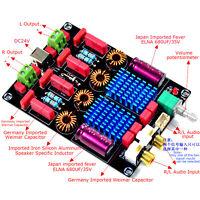 TPA3116 2.0 100W+100W Class D Dual Chip WIMA Deluxe Digital Power Amp Board