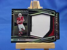 Obsidian 2018 Rookie Eruption Materials Jersey Josh Rosen 04/10 Short Print SP