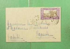 DR WHO 1932 NEW CALEDONIA NOUMEA TO FRENCH POLYNESIA  f97580