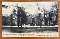 PHILADELPHIA PENN UNIVERSITY HOSPITAL UNIVERSITY OF PENN POSTCARD H72