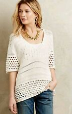 NWT $248 Twelfth St Cynthia Vincent Cumulus Sweater Tee Size Small