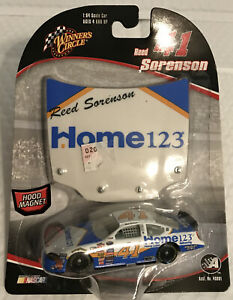 Nascar-1:64 Scale Car-Reed Sorenson #41 with Hood Magnet