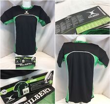 Gilbert Atomic Rugby Base Layer Xl Black Padded Nwt $55 Ygi A9-449