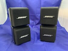 Used Bose AM5 Double Cube Speakers Pair - Black