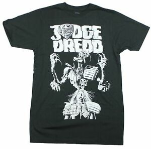 Judge Dredd Mens T-Shirt - Classic Dead Dredd Bolton Cover Imaeg