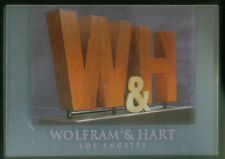"""ANGEL SEASON 4 (Inkworks/2003) """"WOLFRAM & HART"""" FOIL CASE LOADER CARD #CL1"""