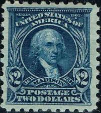 #479 1917 $2 PERF 10 HIGH VALUE ISSUE MINT-OG/H--VF