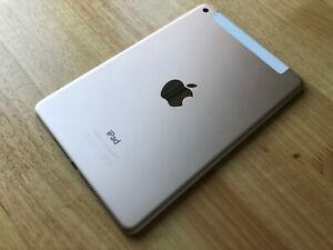 *BOXED* Apple iPad Mini 4 - 128GB - WiFi - Cellular Gold *Excellent Condition*