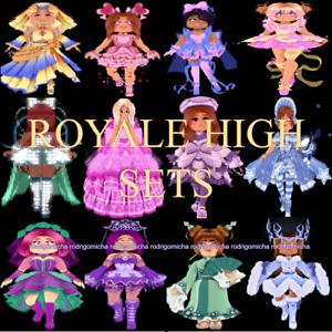 Royale High - All Sets CHEAPEST PRICES (Read Description) Huge Sale!!