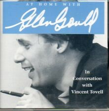 At Home with Glenn Gould In conversation with Vincent Tovell Canadian SEALED CD