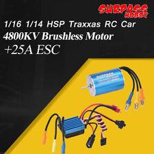 SURPASS HOBBY 2435 4800KV Sensorless Brushless Motor+25A Brushless ESC Combo