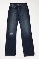 Replay denim jeans donna usato gamba dritta straight W28 tg 42 vintage T4659