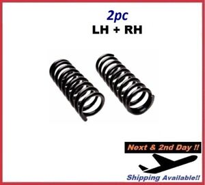 For LINCOLN TOWN CAR 1986-2000 Coil Spring SET Front KIT MOOG 9114