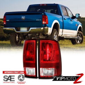 09-18 Dodge Ram Truck 1500 2500 3500 Rear Replacement Tail Light Brake Lamp SET