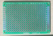 DIY Double-Side Plated Thru Proto-type PCB Board, 4x6 CM, 40x60 mm: 6pcs per lot