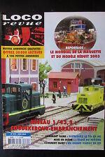 MODELISME FERROVIAIRE TRAIN MAGAZINE LOCO REVUE N° 671 de 2003