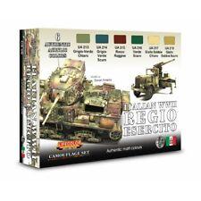 Set Colori Acrilici Lifecolor per Carri Regio Esercito CS08