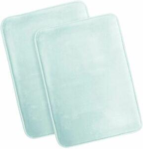 Clara Clark Memory Foam Bath Mat Ultra Soft Non Slip and Absorbent Bathroom Rug,