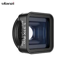 ulanzi 1.33X Pro Anamorphic Lens Phone Camera Lens for Filmmaking M1X6