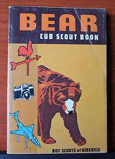 1967 Bear Cub Scout Book - boys scouts of america