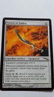 1x SWORD OF KALDRA - Rare -  Mirrodin - MTG - NM - Magic the Gathering