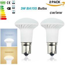 2 X RV Boat LED Lights 12 Volt Bulbs Direct 1156/1383 R12 BA15s Trailer Marine