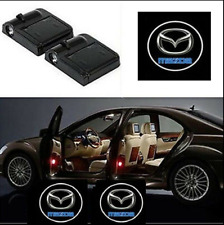 For Mazda Courtesy Door LED Logo Projector Light 2Pc Welcome Light Miata MX-5