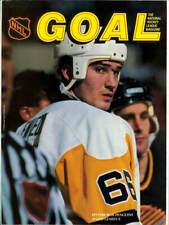 Mar. 21, 1991 Pittsburgh Penguins vs. New York Rangers Game Program Lemieux Rare