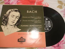Bach, Jeanne Demessieux, Decca Records
