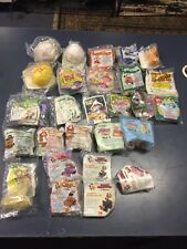 1980s-90s Vintage McDonald's Happy Meal McNugget Muppet Babies Mickey Lot
