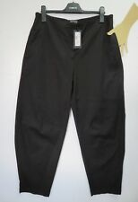 RRP £195, OSKA SIZE 3 Black Thick Cotton STRETCH Trousers Balloon LAGENLOOK ARTY