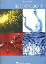 "JEFF DEYO ""LIGHT"" PIANO/VOCAL/GUITAR MUSIC BOOK BRAND NEW ON SALE SONGBOOK RARE!"