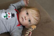 "Reborn Baby Boy ""Astrid"" By Sandra Maxwell - Ooak - Prototype Winning Artist!"