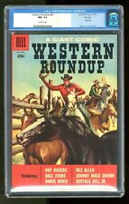 Dell Giant Western Roundup #20 CGC 9.2 1957 0035233019