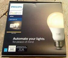 🌟🎈 Philips Hue White A19 Smart Light Startr Kit with 2 LED Bulbs + Bridge 🌟