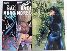 Warren Ellis: Bacio Morboso 1-3 SERIE COMPLETA NUOVI  SCONTO 70% ed. Magic Press