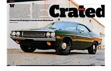 1970 DODGE HEMI CHALLENGER R/T 426/425 HP ~  VERY NICE 4-PAGE ARTICLE / AD