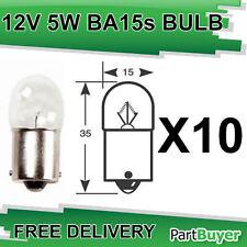 10x Ampoule rw207 12V 5W SCC BA15S Côté et queue Ampoules