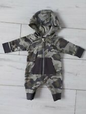 Next Baby Boys All In One Camouflage Babygrow Up To 1 Month New Born