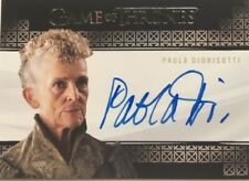 Paola Dionisotti Valyrian Steel Autograph, Game of Thrones Complete Series