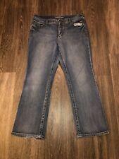 Maurices Women's Blue Jeans- Size 18 Short