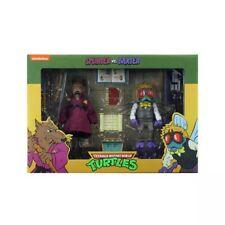 NECA Teenage Mutant Ninja Turtles Splinter & Baxter Action Figure - Brand New