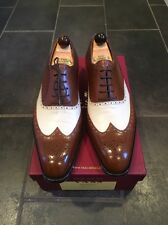 New Chic MTO Two Tone  Semi Brogue Vass Shoes Size 44 1/2 EU  11 D US