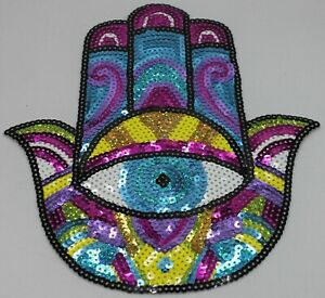Sequin Patch: Palm of Enlightenment
