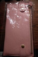 Pink wallet purse new and sealed