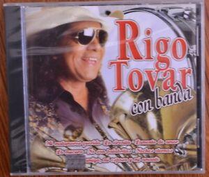 Rigo Tovar Con Banda CD New! Sealed! FREE SHIPPING!
