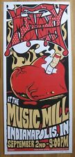 MUDHONEY Music Mill Indianapolis Screened Poster 2006 Grunge PUNK Sub Pop