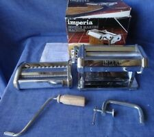 Imperia Tipo Lusso SP150 Stainless Steel Pasta Maker. Made in Italy