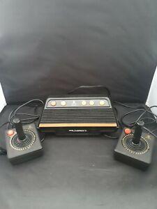 ATARI Flashback 3 Classic Games Console W/ 60 Built-in Games + 2 Joysticks - E19